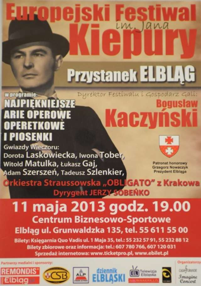 Elbląski przystanek festiwalu Jana Kiepury  - full image