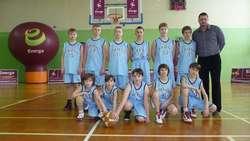 Koszykarze SP 11, mistrzowie województwa