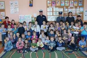 Policjanci z wizytą u przedszkolaków