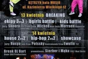 13-14 kwietnia 2013 - BREAKMANIA VI Międzynarodowe Zawody Street Dance