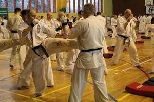 Karatecy ze Szczytna uczyli się od japońskiego mistrza