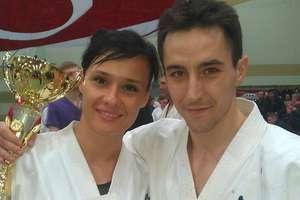 Małżeństwo karateków zdobyło złote medale w Ostrowi