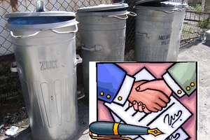 Co ze śmieciami i umowami?