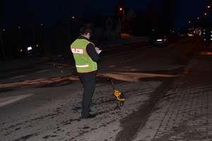 Wypadek w okolicy skrzyżowania ulic Jana Pawła II i Bema