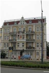 Kamienica z końca XIX wieku przy Al. Grunwaldzkiej w Elblągu