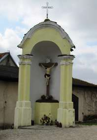 Barokowa kapliczka