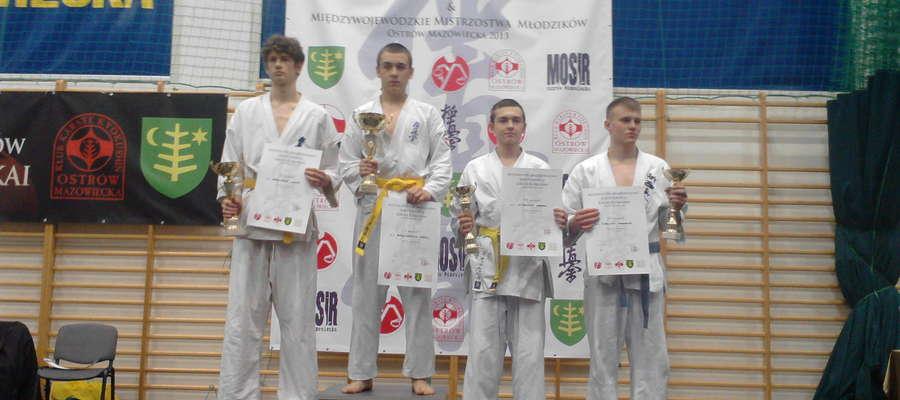 Kamil Grzegorczyk na najwyższym stopniu podium