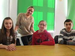 Reprezentacja z gimnazjum w Milejewie