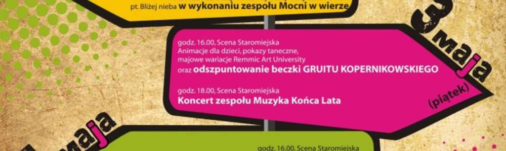 Cztery strony maja, czyli majówka w Olsztynie