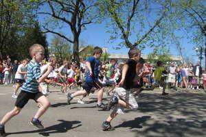 Majówkowe bieganie w Węgorzewie