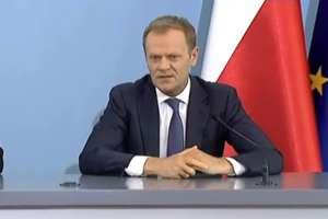 Premier Tusk o prezydencie Nowaczyku. Zobacz film