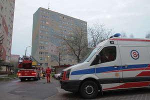 Próba samobójcza na Dworcowej w Olsztynie