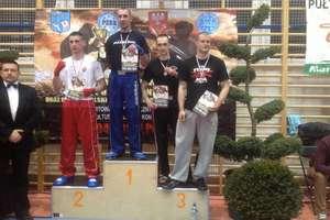 Łukasz Szczodruch medalistą mistrzostw Polski w kickboxingu