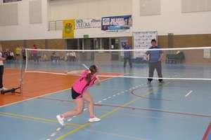 Integracyjny turniej badmintona