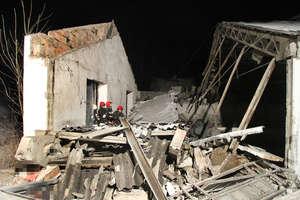 Zawalił się budynek. Pod gruzami zginął ojciec z synem