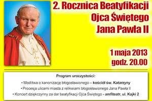 Koncert dziękczynny za dar Beatyfikacji Ojca Świętego Jana Pawła II