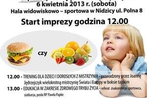 Zapraszamy na imprezę Stop otyłości ,,Ruszaj się i odżywiaj zdrowo''