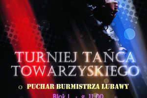 Barwny turniej tańca w niedzielę, 28 kwietnia w Lubawie