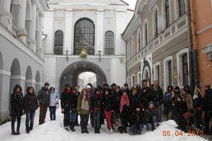 Wycieczka uczniów LO do Wilna