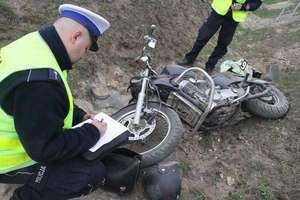 Tragedia w Olsztynku. Zginął motocyklista