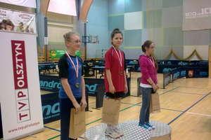 Cieśniewska zdobyła złoto finału Turnieju LZS w tenisie stołowym