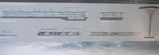 Zwycięski projekt terminala na lotnisku w Szymanach