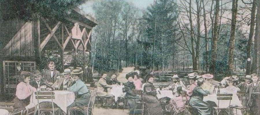 Etablissement Eckertsberg - restauracja z ogrodem letnim, salą bilardową i kręgielnią należąca do Eduarda Huhna w początkach XX. wieku. Zlikwidowano ją w początkach lat trzydziestych