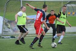 Turniej piłkarski zorganizowany przez PWSZ to dla uczestników okazja mnie tylko do rywalizacji ale i świetnej zabawy