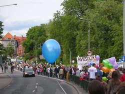 Marsz dla Życia i Rodziny w Olsztynie w 2012 roku.