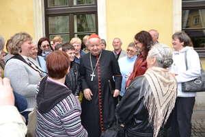 Pielgrzymi z parafii w Żydowie spotkali się z kard. Dziwiszem