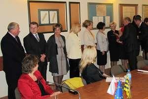 Starosta Gołdapi chwali podwładnych, a burmistrz starostę