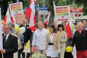 Gołdap: Manifestowali w obronie życia i tradycyjnej rodziny