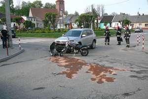 Kolejny wypadek z motorowerem. Kierowca jednośladu w szpitalu