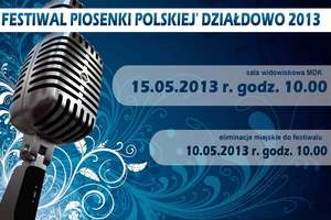 Zapraszamy na Festiwal Piosenki