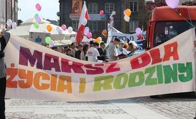 Trzeci Marsz dla Życia i Rodziny w Olsztynie