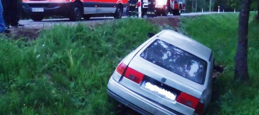 Do zdarzenia doszło w pobliżu miejscowości Glinka (gm. Braniewo) w sobotę (25 maja) kilkanaście minut przed godz. 17.00