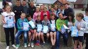 Uczniowie z Janowca Kościelnego wybiegali 10 medali