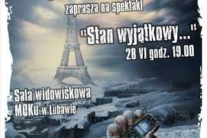 Zaproszenie na debiutancki spektakl grupy Wo/Man