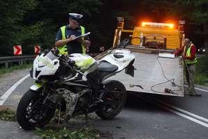 Dwa tragiczne wypadki na drogach. Zginęli dwaj motocykliści