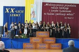 Uroczystości w Zespole Szkół nr 2 im. Jana Pawła II w Działdowie