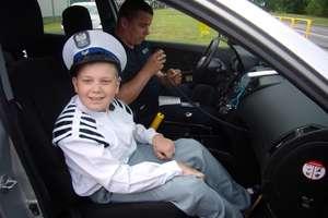 Policjanci spełnili marzenie 12-latka