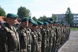 Żołnierze z Gołdapi szkolą się przed wyjazdem do Kosowa