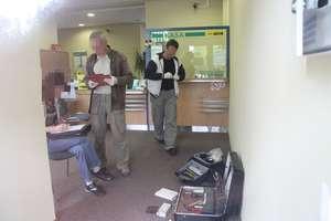 Napad na bank w Olsztynie. Nadal trwają poszukiwania