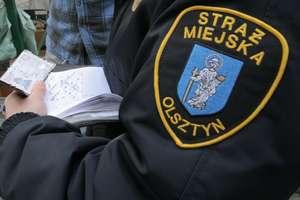 Zamiast mandatu żółta kartka. Straż miejska w Olsztynie upomina