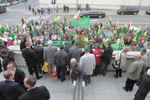 Działkowcy protestowali w Olsztynie. Boją się zmian