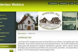 Jubileusz wsi Wolnica i XII Festyn Rekreacyjno - Sportowy