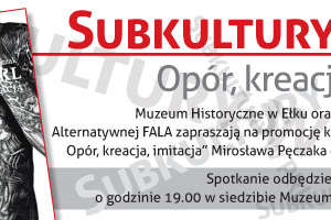 Muzeum zaprasza: Subkultury w PRL. Promocja książki Mirosława Pęczaka