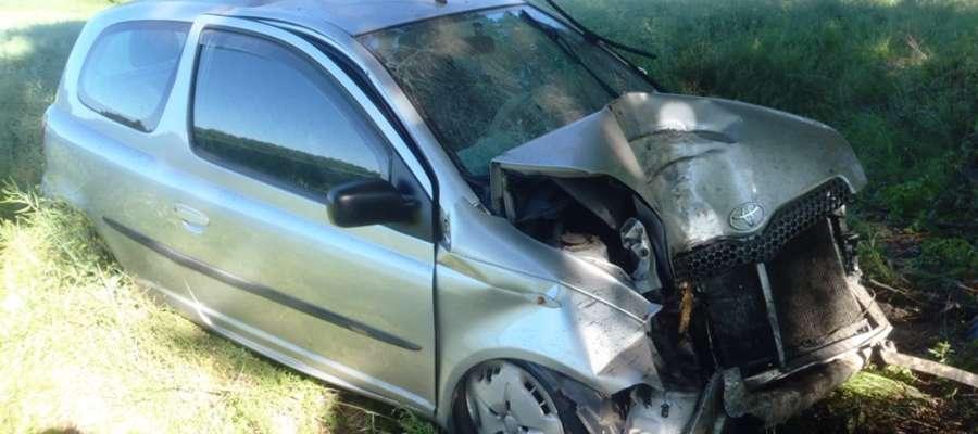 Do wypadku doszło we wtorek (11 czerwca) o godz. 07.25 na drodze powiatowej pomiędzy miejscowościami Bemowizna – Szalmia