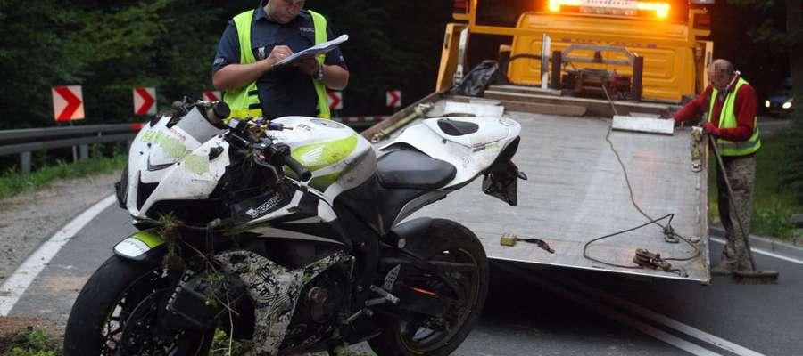 Kierowca hondy zginął w wypadku na DK 51
