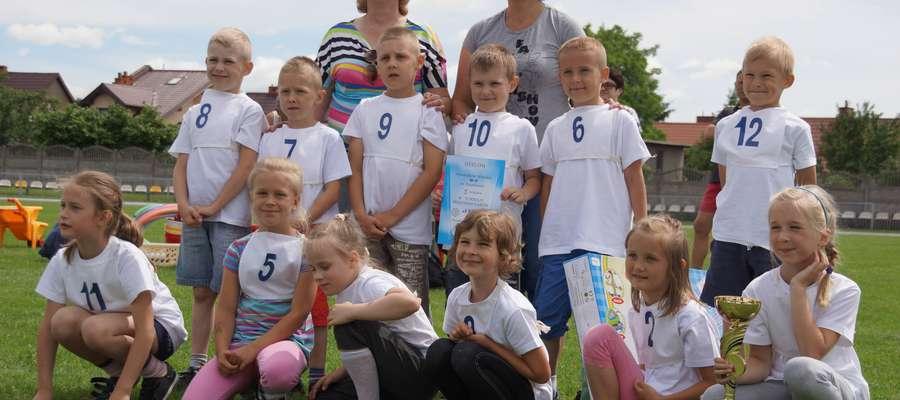 Zwycięzcy - drużyna z Przedszkola Miejskiego nr 5